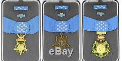 US ORDER WW2, Army, Navy, Air force, Current Versions MEDAL OF HONOR MOH RARE