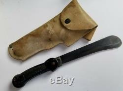 US WW II Imperial Army Air Force Survival Machete Knife Folding Military WW2