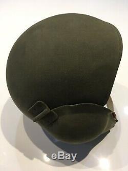 Unused Original WWII US Army Air Forces USAAF M5 Flak Helmet & Liner Ex WW2