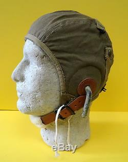 Us Army Air Corps Type A-9 Gosport Flying Helmet-mint