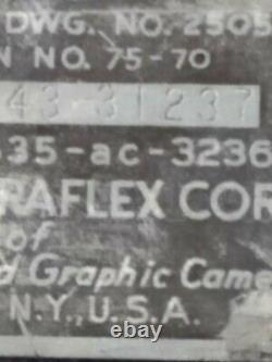 Us Army Air Forces Graflex C-3 Speed Graphic Camera Wwii