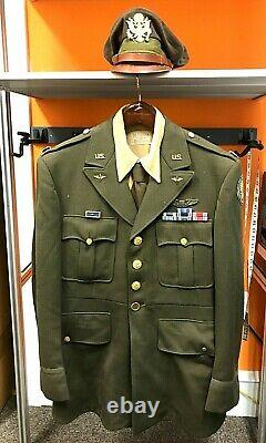 VINTAGE WWII United States Army Air Corp Officer Complete Uniform