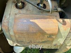 Vintage 1943 Ingersoll-Rand US Army Airborne WWII Air Compressor