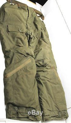 Vintage Antique WW2 World War 2 Airman Crew Coveralls US Army Air Force Size 38