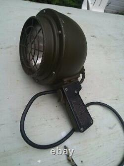 Vintage Genuine Wwii Us Army Air Force Airfield Ground To Air Signal Lamp