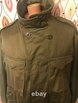 Vintage M-1943 ARMY AIR FORCE WWII FIELD JACKET Task Force Butler