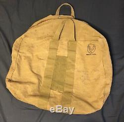 Vintage Military Army Air Force Aviator Kit Bag AN-6505-1 WWII Era Rare