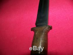 Vintage Original WWII Robeson Army & Navy Air Corp Knife WithSheath Excellent