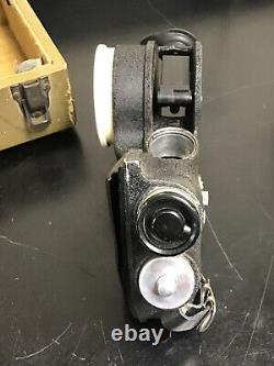 Vintage U. S. Wwii Army Air Force Sextant (bubble) A-12 In Case