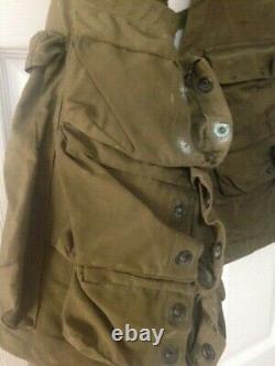 Vintage WW2 Army Air Forces Pilot Survival Emergency Sustenance Vest Type C-1