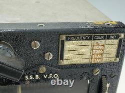 Vintage WW2 US ARMY Air Corps Aircraft Radio Transmitter ARC-5