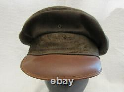 Vintage WWII US Army Air Corps Pilots Summer Coat & Crusher Hat