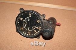 Vintage World War II Japanese Type 96 Air Speed Indicator Army