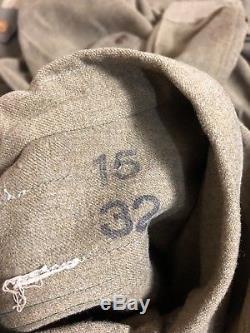 Vintage World War II WW2 US Army Air Force Uniform Coat Jacket 40s Military