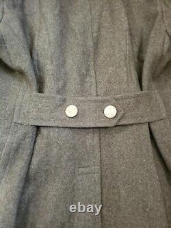 Vintage Wwii Ww2 Us Army Air Corps Officers Long Dress Jacket Trench Coat 40r