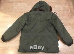 Vtg Eddie Bauer B9 WWII Parka Coat Jacket Flight Bomber Army Air Forces 1940s