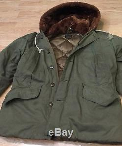 Vtg Eddie Bauer B9 WWII Parka Coat Jacket Flight Bomber Army Air Forces 1940s