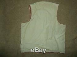 Vtg WW2 Air Corps Army Air Force Flight Flying Vest for B-15 B-3 B-10 Jacket