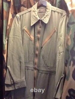 WOOL WWII L-1 Flight Suit Army Air Corps U. S. Aaf nice blue bell workwear