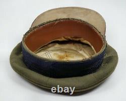 WW1 WW2 US Army Air Corp force Cadet dress uniform jacket crusher visor cap hat