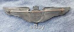 WW2 Army Air Corps AAC Luxenberg Bombardier Wing 3in