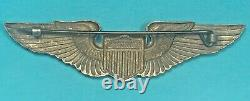 WW2, Army Air Corps Glider Pilot Wing, Angus & Coote, Pinack, Excellent Cond, #5