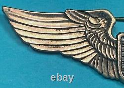 WW2, Army Air Corps Glider Pilot Wing, Juarez Pattern, 3 Pinback, Exc. Cond