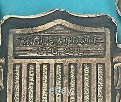 WW2, Army Air Corps Pilot Wing, Angus & Coote, Pinack, Excellent Cond, #1