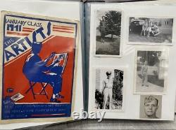 WW2 Army Air Corps photo album dog tag ID bracelet AAC