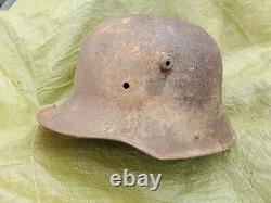 WW2 German camo combat Luftwaffe helmet US Army WWI Air Force soldier camouflage