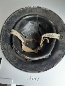 WW2 MKII British Army Brodie Helmet Liner Chinstrap ARP Warden Air Raid