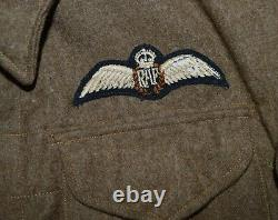 WW2 R. A. F Battledress Blouse 37 pattern large size 2nd Tactical Air Force pilots