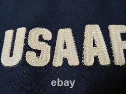 WW2 USAAF ARMY AIR FORCE BUZZ RICKSON'S REAL MCCOYs Wool Baseball Jacket