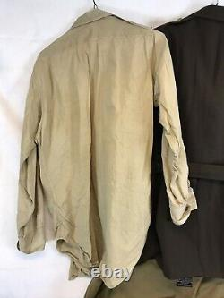 WW2 USAAF Army Air Corps Pilots B-4 Uniform Bag, Picture Lot With Manuals