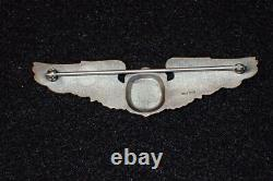 WW2 USAAF Army Air Force Glider Pilot Badge Wings Balfour Sterling LGB 3 RARE