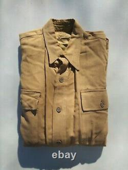 WW2 US Army 10th Air Corp CBI Sergeant Enlisted Men Pants and Shirt