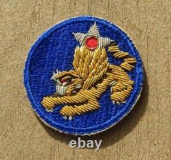 WW2 US Army 14th Air Force SSI Shoulder Patch Insignia Gemsco Bullion Oversew