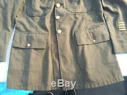 WW2 US Army 15th Air Corp Sergeant Enlisted Men Tunic Size 42S 1942