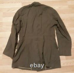 WW2 US Army Air Core Uniform Footlocker Vintage War Clothes belts hats patches