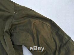 WW2 US Army Air Corp B-15A Flight Jacket Size 42 MFG Berk-Ray Corporation