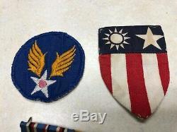 WW2 US Army Air Corp CBI Air Medal Grouping