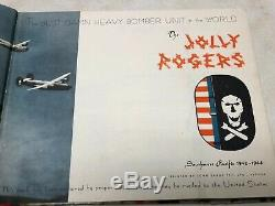 WW2 US Army Air Corp Jolly Rogers Bomb Group Unit History Blue Tail
