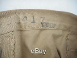 WW2 US Army Air Corp Women Wac Wave Tan Skirt Size 26 Named