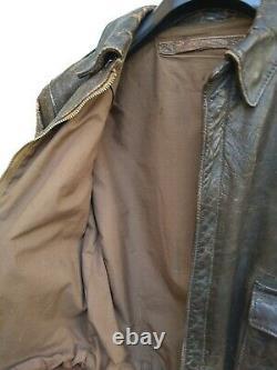 WW2 US Army Air Corps A2 Flight Jacket