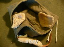 WW2 US Army Air Corps Flying Helmet & Goggles
