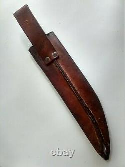 WW2 US Army Air Corps V44 Kinfolks Bowie Knife with scabbard and documentation