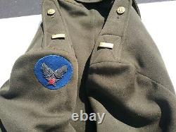 WW2 US Army Air Force 2nd Lt Pilot Officer's Tunic Approxi. Size 42-44 Long
