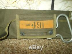 WW2 US Army Air Force AN-4 AIRBORNE CHEST PARACHUTE VERY NICE