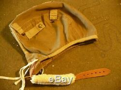 WW2 US Army Air Force A-8 Flying Helmet & Type B-7 Goggles