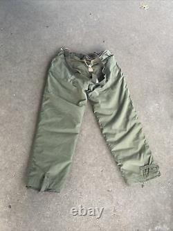 WW2 US Army Air Force B-2 Fur Lined Pants Size Small J308